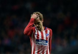 """Atletico"" prezidentas apie A. Griezmanną: ""Esame nusivylę jo elgesiu"""