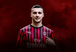 """Oficialu: """"Milan"""" sustiprino saugo pozicijoje rungtyniaujantis bosnis"""