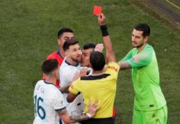 """Kovoje dėl """"Copa America"""" bronzos – kontraversiški teisėjo sprendimai ir argentiniečių pergalė"""