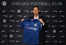 "Oficialu: prie ""Chelsea"" vairo stoja klubo legenda F. Lampardas"
