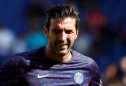 """G. Buffonas šią savaitę sugrįš į """"Juventus"""""""
