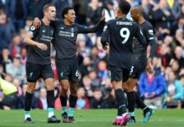 """""""Liverpool"""" pratęsė pergalių žygį """"Premier"""" lygoje"""
