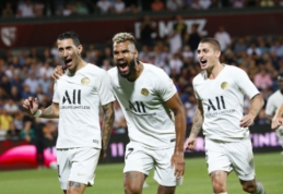 """PSG išvykoje susitvarkė su """"Metz"""""""