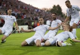 Lietuviškos futbolo svajonės link: ar trečias kartas nemeluos?
