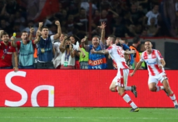 """""""Crvena zvezda"""" antrus metus iš eilės prasibrovė į Čempionų lygos grupių etapą"""