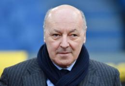 """""""Inter"""" direktorius paneigė kalbas apie ketinimus išlaikyti M. Icardi"""