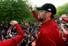 """J. Kloppas neplanuoja pasirašyti naujos sutarties su """"Liverpool"""""""