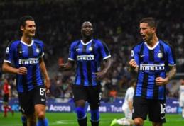 """""""Inter"""" sezoną Italijoje atidarė įspūdingais įvarčiais ir triuškinančia pergale"""
