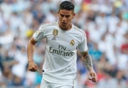 """Pirmas rungtynes su """"Real"""" šią vasarą sužaidęs J. Rodriguezas patyrė traumą"""