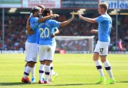 """S. Aguero atvedė """"Man City"""" į pergalę prieš """"Bournemouth"""""""