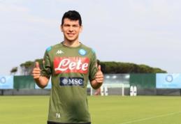 "Oficialu: H. Lozano atstovaus ""Napoli"" komandai"