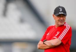 """""""Juventus"""" treneriui M. Sarri – plaučių uždegimas"""