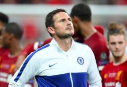 Be trofėjaus likęs F. Lampardas pasidžiaugė komandos pasirodymu
