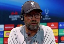 """J. Kloppas: """"Negaliu padėti žmonėms, kurie jau nurašo """"Chelsea"""""""