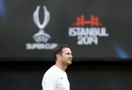 """F. Lampardas apie E. Hazardą: """"Jo neįmanoma pakeisti kitu žaidėju"""""""