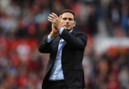 """Pirmojo testo neišlaikęs F. Lampardas: """"Varžovai nedovanojo už mūsų klaidas"""""""