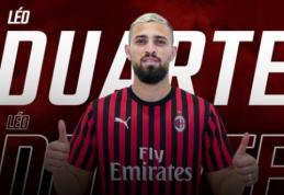 """Oficialu: L. Duarte papildė """"AC Milan"""" ekipą"""