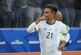 """Di Marzio: """"Tottenham"""" pateikė 70 mln. eurų pasiūlymą už P. Dybalą"""
