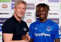 """Oficialu: """"Everton"""" įsigijo M. Keaną"""