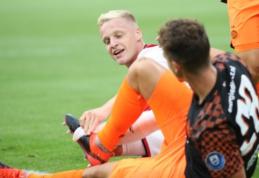 """D. van de Beekas prasitarė apie galimybę keltis į Madrido """"Real"""""""