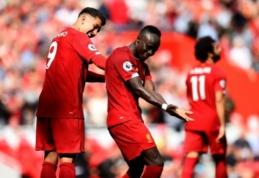 """""""Liverpool"""" klubui gresia pašalinimas iš Anglijos lygos taurės?"""