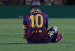 E. Valverde ramina klubo gerbėjus: L. Messi trauma nėra rimta