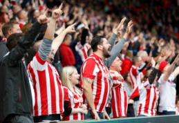 """""""Stoke City"""" klubas turi nedrausmingiausius sirgalius Anglijoje"""