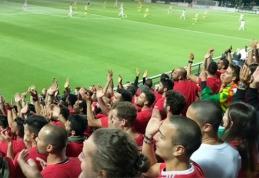 """Į portugalų tribūną prasmukęs sirgalius: apie neįtikėtiną palaikymą, """"miškinius"""" fanus ir plytą"""