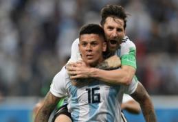 """Dėl žaidimo Argentinos rinktinėje M. Rojo yra pasiryžęs palikti """"Man Utd"""""""