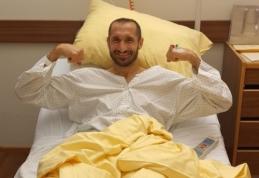 """""""Juventus"""" atskleidė, kiek užtruks G. Chiellini reabilitacija"""