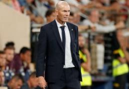 """Z. Zidane'as: """"Mums trūksta įvarčių"""""""