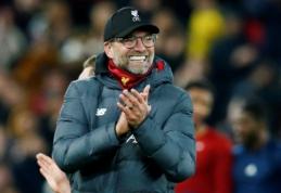 """""""Liverpool"""" gali boikotuoti """"Carabao"""" taurės ketvirtfinalio rungtynes"""