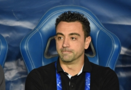 "P. Guardiola įsitikinęs, kad Xavi taps ""Barcelona"" komandos treneriu"