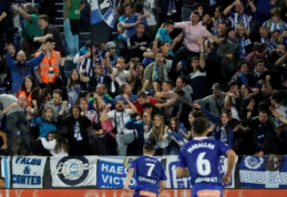 """L. Perezas fantastišku smūgiu atėmė pergalę iš """"Atletico"""" ekipos"""