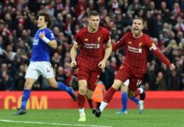 """J. Milneris apie VAR: """"Ši sistema gadina atmosferą stadionuose"""""""