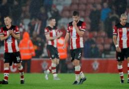 """Po pažeminimo """"Premier"""" lygoje """"Southampton"""" žaidėjai atsisakė savo algų"""