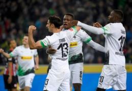 """Gladbach"" šešių įvarčių fiestoje įveikė ""Eintracht"""