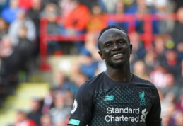 """S. Mane iki karjeros pabaigos norėtų žaisti """"Liverpool"""" klube"""