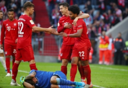"""""""Bayern"""" palaužė """"Union"""" ekipą, """"Schalke"""" ir BVB išsiskyrė be įvarčių"""