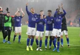"""""""Leicester"""" įsirašė į Anglijos futbolo istorijos puslapius"""
