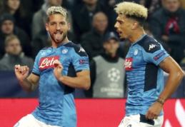 """D. Mertensas rezultatyviausių """"Napoli"""" klubų žaidėjų sąraše pralenkė D. Maradoną"""
