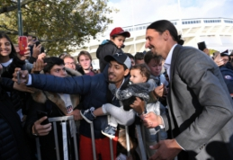 """""""Napoli"""" prezidentas neatmeta galimybės pasikviesti Z. Ibrahimovičių"""