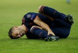 """Bayern"" keliems mėnesiams neteko dar vieno gynėjo"