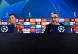 """Čempionų lygos viršūnę pasiekti norintis C. Ronaldo: """"Esame patobulėję prie Sarri"""""""