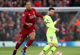 Iš L. Messi lūpų – pagyros V. van Dijkui