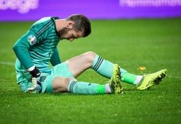 """Man Utd"" gali ilgam prarasti traumuotą D.De Gea"
