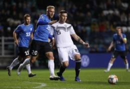 Estai neatsilaikė prieš dešimtyje žaidusią Vokietiją, kroatai liko be pergalės Velse