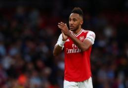 """""""Arsenal"""" paruošė naują kontraktą P. Aubameyangui"""