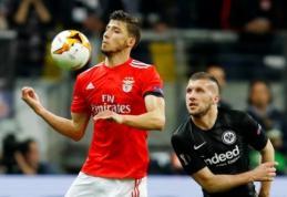 """""""Man City"""" susidomėjo """"Benfica"""" gynėjo paslaugomis"""
