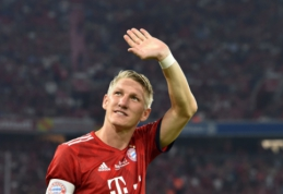 B. Schweinsteigeris paskelbė apie karjeros pabaigą